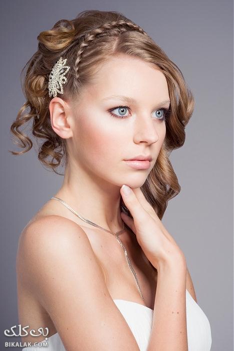 bride hairstyles 41 مدل مو عروس 2013