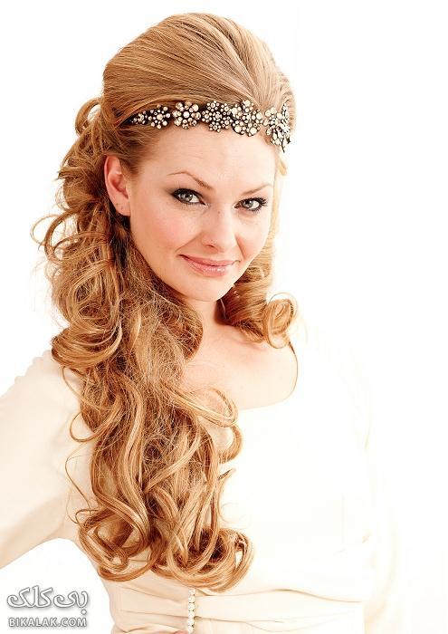 bride hairstyles 71 مدل مو عروس 2013