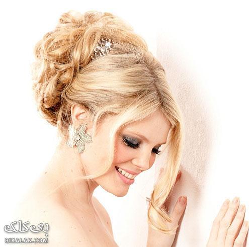 bride hairstyles 81 مدل مو عروس 2013
