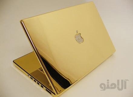 لپ تاپی از طلای ۲۴ عیار + عکس