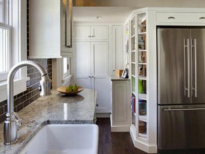 هنر چیدمان آشپزخانه های کوچک را با ما بیاموزید