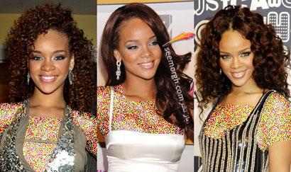 انواع مدل های مو ریحانا Rihanna
