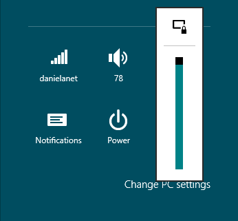 چگونگی غیر فعال کردن چرخش خودکار صفحه نمایش در ویندوز ۸