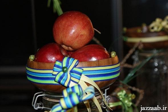 تزئین تخم مرغ رنگی و سفره هفت سین