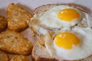 زرده و سفیده تخم مرغ رو با هم بخورید!