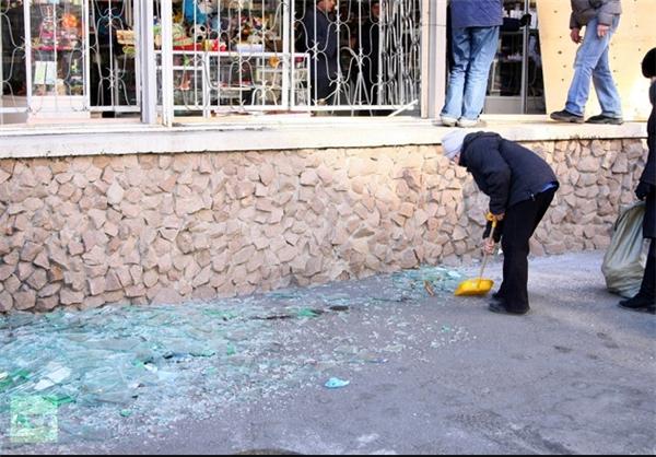 پیامد های سقوط شهاب سنگ در روسیه + عکس