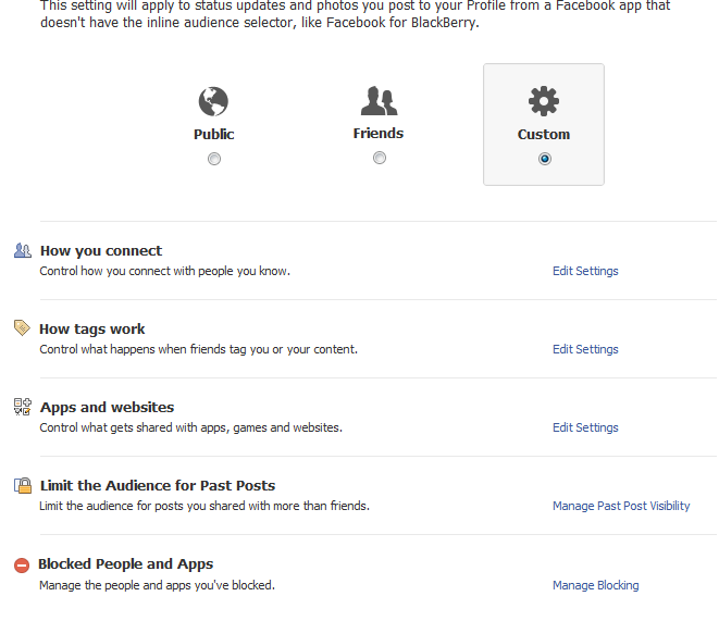 آموزش کامل تنظیمات فیسبوک