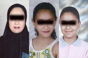 مادری که دو فرزندش را سر برید دستگیر شد + عکس