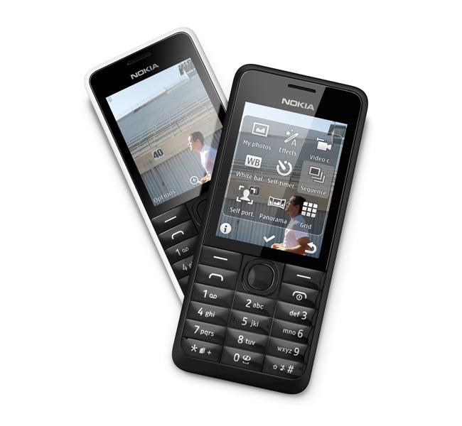 نوکیا تلفن همراه ۳۰۱ را معرفی کرد