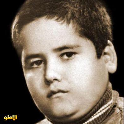 کودکی اکبر عبدی / عکس