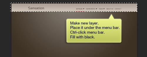 طراحی یک قالب بلاگ زیبا در فوتوشاپ CS6