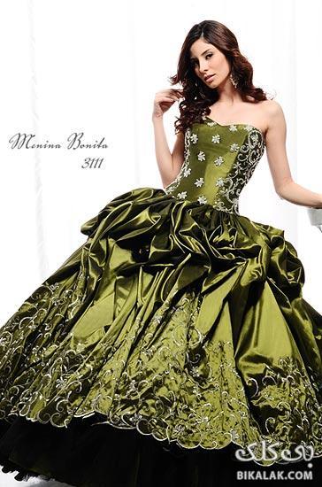 Bikalak.com عکس های مدل های لباس نامزدی جدید 2013