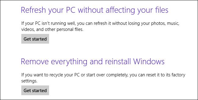 هر چیزی که می بایست درباره تازه کردن و تنظیم دوباره رایانه ویندوز ۸ تان بدانید