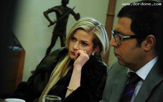 عکسهای خواننده و بازیگر زن لبنانی در سریال ایرانی