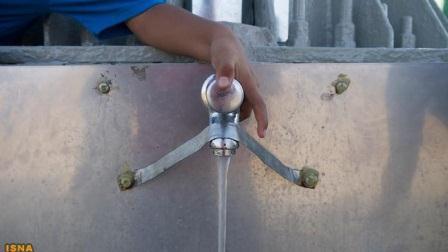 بیلبورد مولد آب آشامیدنی در شهر لیما + عکس
