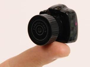 کوچک ترین دوربین دیجیتال دنیا