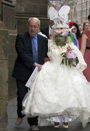 زشت ترین عروس جهان را ببینید+عکس