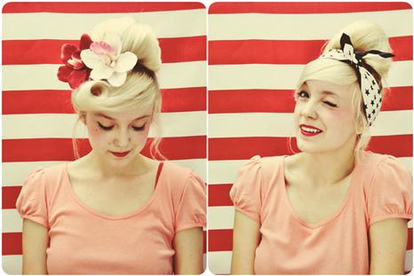 آموزش تصویری درست کردن مدل موی گوجه ای