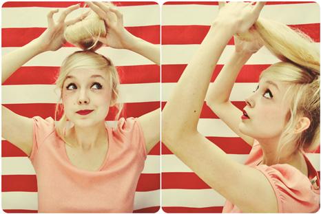 model eydoone 8 آموزش تصویری درست کردن مدل موی گوجه ای