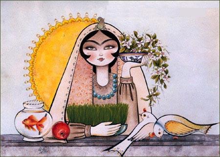 اس ام اس تبریک عید نوروز ۹۲