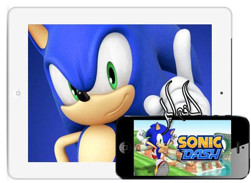 دانلود بازی Sonic Dash جاوا