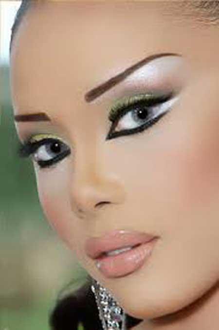 جدیدترین مدل آرایش صورت 2013