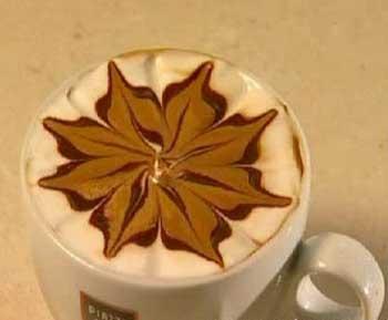 آموزش تزیین قهوه به زیباترین شکل