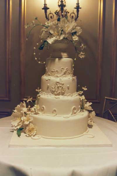 جدید ترین مدل های کیک عروسی