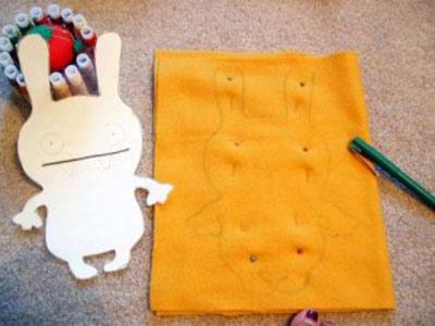 آموزش ساخت عروسک پارچه ای