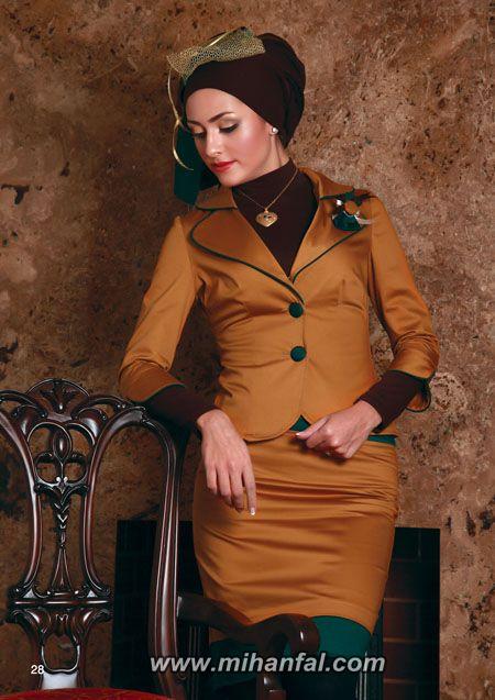 مدل های جدید کت و دامن ایرانی