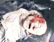 عکس جنازه حجر بن عدی واقعی نیست!