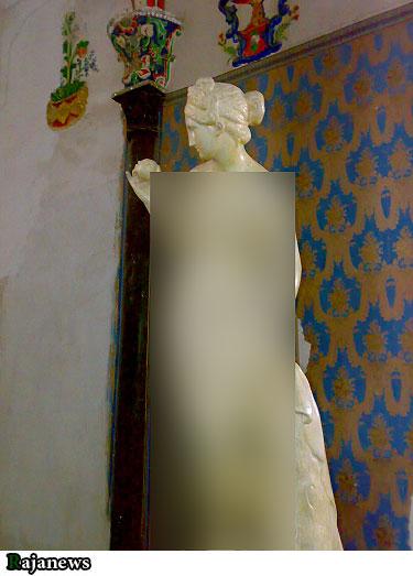 ماجرای مجسمه های مستهجن مشایی