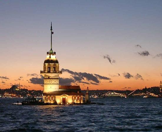 برج Leanders استانبول ساخته شده توسط ابراهیم پاشا + عکس