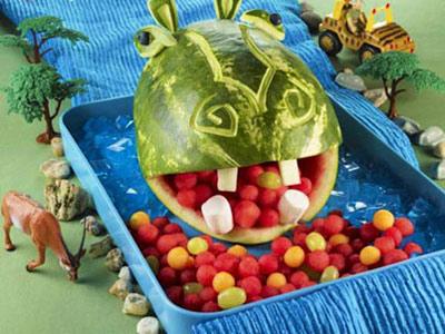 مدل های جالب تزئین میوه