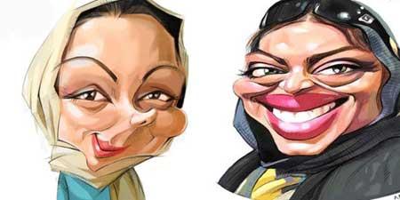 کاریکاتور بازیگران ایرانی
