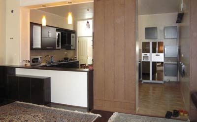دکوراسیون کابینت آشپزخانه , دکوراسیون کابینت mdf
