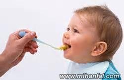 راههایی  برای از شیر گرفتن کودک
