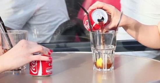 طراحی خلاقانه نوشابه کوکاکولا +عکس