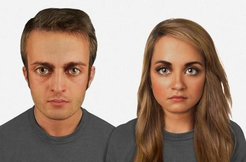 چهره انسان تا ۱۰۰۰۰۰ سال آینده + عکس