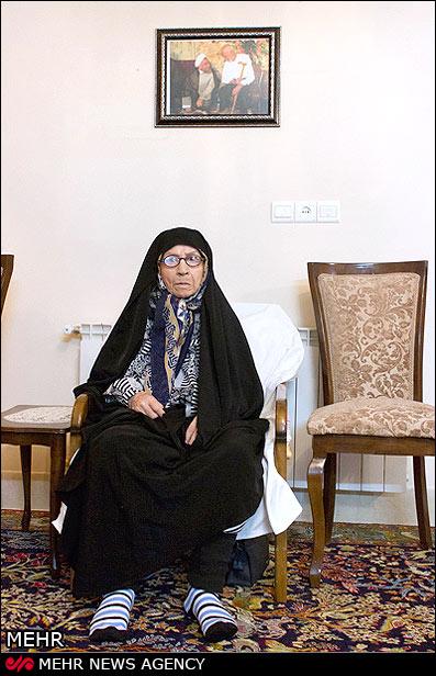 مادر دکتر حسن روحانی از فرزندش میگوید+عکس
