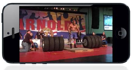 دانلود کلیپ بلند کردن وزنه ۱۱۲۸ پوندی