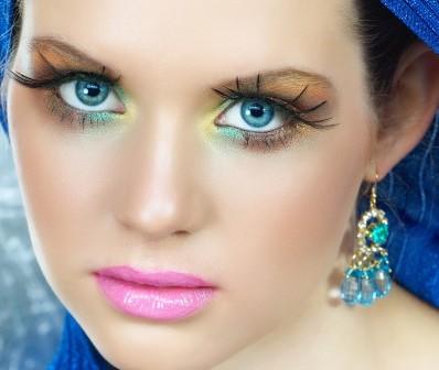 مدل آرایش چشم برای چشم های بزرگ : مدل آرت
