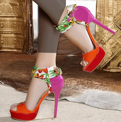 مدل کفش پاشنه بلند دخترانه 1392