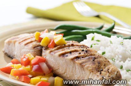 طرز تهیه ماهی کبابی