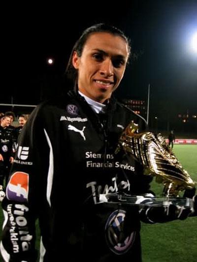 بیوگرافی مارتا ویرا داسیلوا بهترین فوتبالیست زن جهان