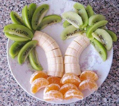 تزیین غذا با انواع خوراکی ها