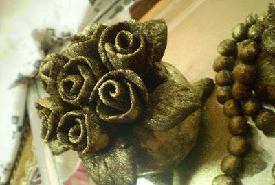 تزئین سینی حنا برای حنابندان