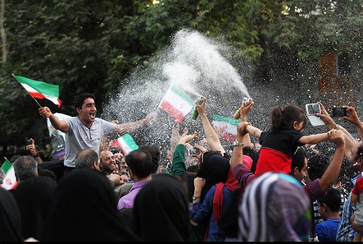 جشن راهیابی به جام جهانی + عکس