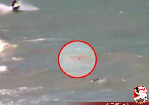 تصاویر هولناک از شنا کردن دختر 18 ساله!