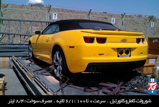 عکس هیولای آمریکایی در خیابان های ایران